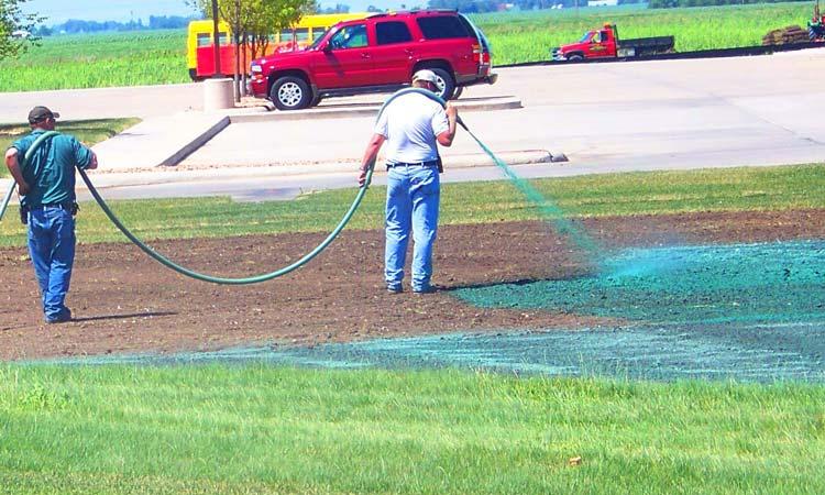 Ames Hydroseeding Services Jm Lawn Landscaping Ames Iowa